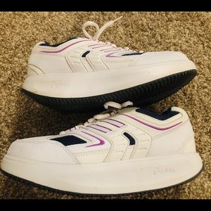 Curves Tennis Shoes Sneakers white Purple 8 M